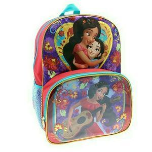 🌟B2G1 NWT Elena of Avalor Backpack Lunchbox Set